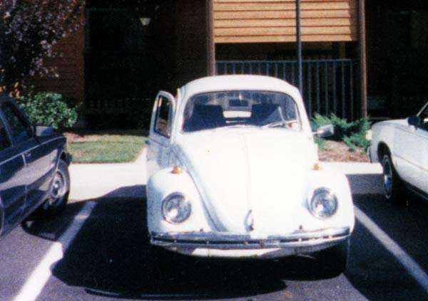 first car; volkswagen beetle